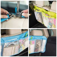 automobile dvd - nterior Accessories Stowing Tidying cm cm Car Trunk Organizer Seat Cover Toys DVD Storage Container Bags Automobiles Auto Styling Ac