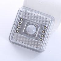 Wholesale 30pcs LED Light Lamp PIR Auto Sensor Motion Detector MGXA029