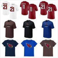 arizona t shirts - Arizona Cardinals peterson Name Number Authentic Logo man T Shirt Red Sideline Legend Font DriFIT TShirt mix order size S XXXL