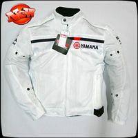 jacket racing - New Men motorcycle jacket summer mesh racing jackets women motocross bike bicycle protection jacket with sets equipment
