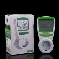 Wholesale High Quality V Euro Plug Timere Socket Energy Meter Watt Voltage Volt Meter Hertz Power Analyzer Factor EU