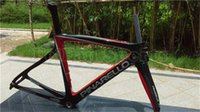 Wholesale T1000 k carbon road bike frame black red golssy finish Carbon fiber bicycle frame BB68 BB30 all color available