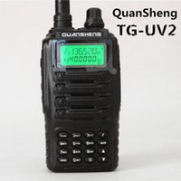 best power vhf - QuanSheng Best Selling Ham Radio TG UV2 W Power Dual Band VHF amp UHF Portable Walkie Talkie Military Quality