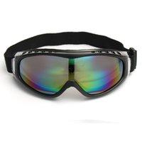 Wholesale Snowboard Eyewear Dustproof Sunglasses Motorcycle Ski Goggles Eye Lens Glasses