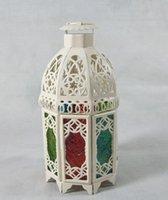 Wholesale Lantern Iron Candle Holder Candlesticks Candelabra Home Wedding Decorations Gifts