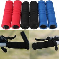 Wholesale New Pair MTB Bike Bicycle Handle Handlebar Soft Sponge Bar Grips Nonsl