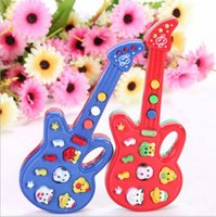 battery operated guitar - New Musical Educational Toy Baby Kids Children Portable Music Piano Toy Guitar