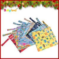 Wholesale Factory direct supply export brand Babyland waterproof zipper urine bag containing bag