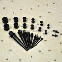 Wholesale HOT SELL Ear Taper PLUG Kit G G mm mm Gauges Expander Set Stretchers