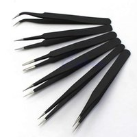 Wholesale P80 Hot sale Resists Corrosion Safe Anti static Tweezers Maintenance Tools ESD10