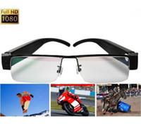 None No  New Spy Glasses camera hidden camera glasses camera full HD 1080P video recorder mini DVR sunglass V13 eyewear DV support TF card
