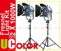 arri lights - 2 x W Fresnel Tungsten Video Spot Light Kit as Arri Lighting