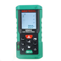 Wholesale Original MASTECH MS6414 M Handheld Laser Distance Meter Range Finder Area Volume Tester