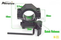 Wholesale AloneFire M mm rail Tactical Mount Holder for MM mm Flashlight picatinny tactical Quick Release mount pc