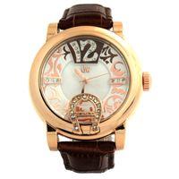 diamond brand watch - Gold Winner Brand Fashion Casual Elegant Diamond Women Girl Leather Quartz Watch Wristwatch Waterproof Watches GW180045