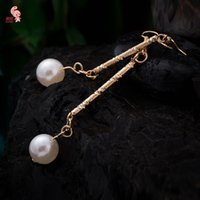 Wholesale New Fashion Strong Statement Long Drop Earrings For Women Girl s Pink Dream