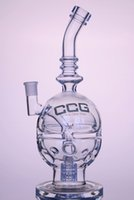 Wholesale CCG New arrival glass water pipes glass bongs Fab Egg with matrix perc mm female joint