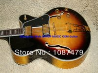 Wholesale High Quality Newest Hollow Jazz Guitar Abalone Binding Musical instruments