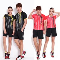 Wholesale Badminton Set T shirt Shorts Lee Chong Wei and Lin Dan Badminton Sportswear EX EX