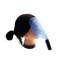 face shield - Plastic Face Shield for Salon Hairspray Haircut Mask Sponge Handle Face Protector Hairspray Mask W202