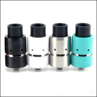 Replaceable 3.5ml Metal E Cigarette Rebuildable Vapor Velocity RDA Atomizer 510 Thread 304 Stainless Steel 1:1 Clone Electronic Cigarette RDA Atomizer 4 Colors
