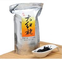Wholesale 250g Wuyi Dahongpao Tea China wuyi da hong pao Big Red Robe Oolong tea Natural Green food tea Beauty healthy care