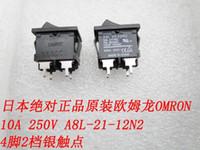 Wholesale Japan genuine original OMRON feet files rocker switch A V A8L N2