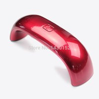 Wholesale 1016 Portable LED Lamp Nail Dryer Mini Nail Lamp rainbow shaped W Curing for UV Gel