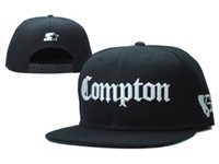Wholesale 1 PC Summer Spring Basketball Football Baseball Hip pop Funny Adjustable Vogue Compton Snapback Cap Hat for Men and Women