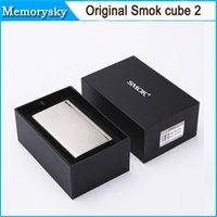 Wholesale Original Smok Xcube II box mod Xcube temperature control smok x cube II w TC mod VS smok Xpro M80 plus Hot selling by DHL