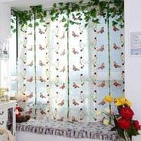 Wholesale Light Filtering Fabric Fold Roman Shade Butterfly Printed Window Curtains for Living Room Treatment PTSP