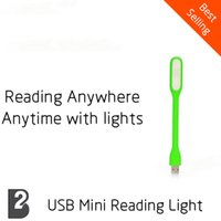 Wholesale Mini Adjustable USB LED Lamp Mobile Power Supply Reading Light Eyecare USB Reading Light night light led night light