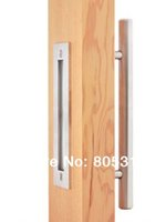 barn door handles - Stainless Steel Barn Door Handle Pull Wooden sliding door handle knob