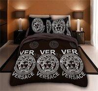 Cheap Wholesale-UIHOME bedclothes cotton 4pc bedding set 3d twin queen bed sheet Linen Duvet Comforter Quilt cover sets free shipping
