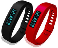Wholesale SH01 Healthy Bracelets Bluetooth Smart Silicon Wristband Pedometer Monitoring Sleep Fitness Bluetooth EDR Smart Watch OLED Screen