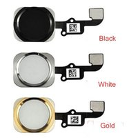 Wholesale For Apple iphone G Home Button Flex Cable Ribbon Assembly Gold Black White With tracking Number