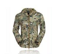 acu coat - HOT TAD V Men Outdoor Hunting Camping Waterproof Coats Jacket Hoodie Black Green Desert Brown ACU CP S XXXL
