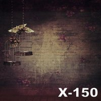 125cmX150cm background cloth for photography - 125X150cm brick wall vintage background for photos muslin computer printed digital cloth photography backdrop vinyl backdrops fabric