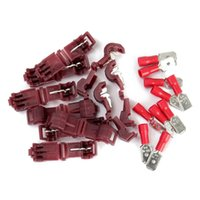 Wholesale 2015 Good Quality Quick Splice Wire Connector Terminals Male Spade Connectors mm Hot Sale