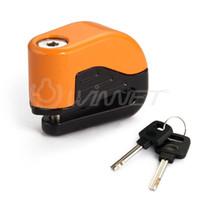 Wholesale Motorcycle Motorbike Anti theft Alarm Security Disc Brake Lock