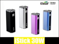 Cheap Replaceable eleaf istick 20w Best 4.5ml Metal mod