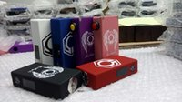 Wholesale Newest clone Hexohm v3 box mod Hex Angels Edition w with LED screen updated version of Hexohm v2