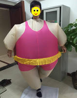 adult ballerina costumes - one size fit all design adult inflatable ballerina costume for party