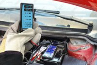 automotive alternators - ALL SUN GK503 Hot sale Mini Volt Battery Check Automotive Battery Tester Charger Alternator CrankIng Check M44527 tester pen