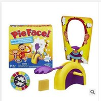 Wholesale Toy Korea Running Man Pie Face Game Children Novelty Interest Paternity Toys Cream On Her Face Hit Toy Christmas Gifts R1504