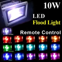 ac play - Outdoor lights W W W W Led Floodlight V V IP65 Waterproof Led RGB Garden light Play Grounds Light Flood Light