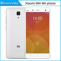 achat en gros de xiaomi quad core-2016 New xiaomi Mi4 M4 LTE 4G Mobile Phone 3G RAM 16G ROM Snapdragon S801 Quad Core 2,5 GHz 5.0Inch IPS 1920 * téléphone 1080P OTG GPS 010234
