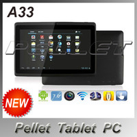android mid - Pellet Inch Allwinner A33 Quadcore Tablet PC GB Android Q88 Dual Camera Wifi MID A33 Tablet