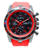 watch faces - 1pcs SBAO Brand Sport Casual Mans Watch Hot Sale Quartz Fashion Big Dial Watches for Men Gifts mm Face Wrist Watches Hours