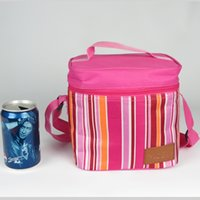 Wholesale Ice bag D oxford picnic lunch tote bag aluminum foil with pearl cotton insulation bag outdoor ice packs